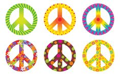Peace Classroom Theme | Classroom Decorations | Accents | Peace Signs Classic Accents®, 36 ...