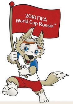 Mascot: Zabivaka 2018 World Cup Russia Fifa Football, World Football, World Cup 2022, Fifa World Cup, Real Madrid, Manchester United, France Football, Word Cup, Sports