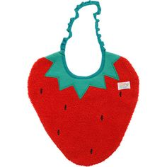 I feel like this is from my childhood // strawberry bib
