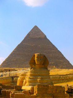 pyramid in Egypt # hot # desert # creative