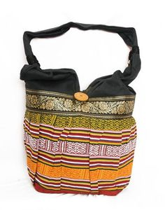 Multicolor Zari Jhola Bag Traditional Women's by TheIndianBazaar, $6.99
