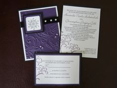 stampin up wedding invitations - Google Search | Party: Invitations ...