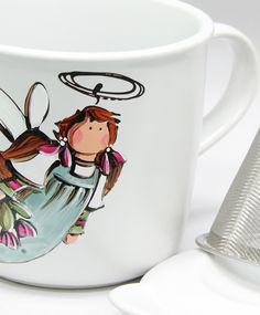Amilia : : L'ANGE DE L'AMITIÉ  Disponible sur plusieurs produits.  Produits peints à la main. Tableware, Budget, China Painting, Angels, Drinkware, Products, Hands, Dinnerware, Dishes