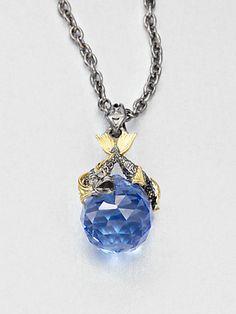 Stephen Webster - Pisces Sapphire Astro Ball Pendant Necklace - Saks.com