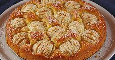 Apfekuchen-Μηλόπιτα γερμανική με ιδιαίτερη κρέμα Apple Recipes, Baking Recipes, Cake Recipes, Dessert Recipes, Apple Deserts, Sweet And Salty, Greek Recipes, Soul Food, I Foods