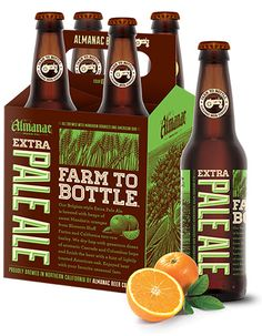 Farm to bottle, craft beers