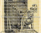 Vintage Camera Digital Graphic Download