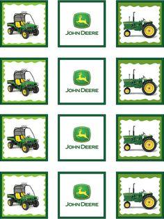 John Deere  printables