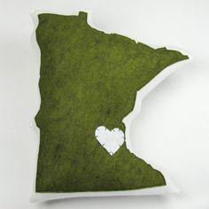 Minnesota Pillow Relish by Love, California