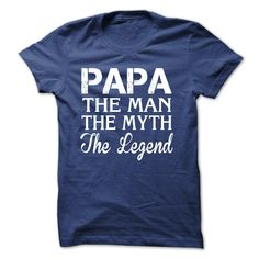 This Shirt Makes A Great Gift For You And Your Family. papa, the man, the myth, the legend .Ugly Sweater, Xmas Shirts, Xmas T Shirts, Job Shirts, Tees, Hoodies, Ugly Sweaters, Long Sleeve, Funny Shirts, Mama, Boyfriend, Girl, Guy, Lovers, Papa, Dad, Daddy, Grandma, Grandpa, Mi Mi, Old Man, Old Woman, Occupation T Shirts, Profession T Shirts, Career T Shirts,