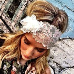 nice hair cute headband