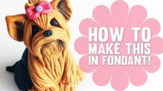 Tutorial – Yorkshire Terrier   Cake Dutchess