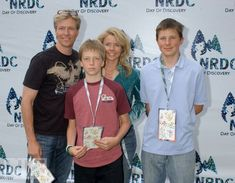 Jack Wagner, Kristina Wagner and kids during NRDC Day Of Discovery Fair - Arrivals at Wadsworth Theater Grounds in Westwood, California, United States. Gorgeous Men, Beautiful People, Jack Wagner, Soap Opera Stars, Photo Hosting, Westwood California, General Hospital, My Images, Celebs
