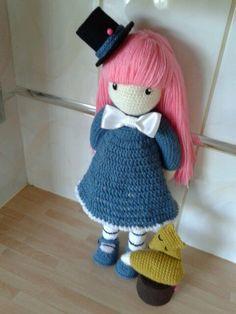 gorjuss doll the dreame handmade crochet