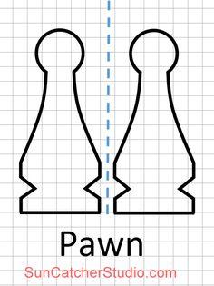 Πρότυπο κομμάτι σκακιού (Πιόνι)