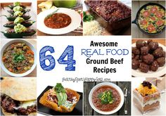 64 Awesome REAL FOOD Ground Beef Recipes | Healthy Roots, Happy Soul