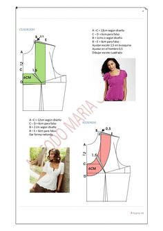Manual patronaje femenino http://es.slideshare.net/mitus77/manual-patronaje-femenino?from_action=save