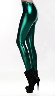 81a077715470ef Bright Sequin PU Faux Leather Leggings Pants Fitness For Women - Land of  Roses Store