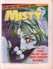 My favourite comic as a kid; Misty