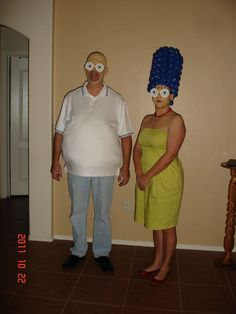 Easy Simpsons Halloween Costume