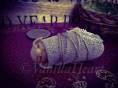 1:12 Dolls House Harry Potter inspired house elf baby by Vanilla Heart