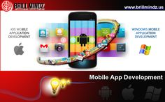 At Brill Mindz, Mobile App is trending hot emerging technology that we are adapting nowadays. We have first evolved with Android Mobile App's, now get into Android, IOS and Windows Apps too. Mobile Apps comprises for all types of business from Small scale to large scale industrial segments and enterprises. We do Mobile App for your website or standalone Apps as per client requirements.