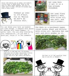 kale chips. ha!
