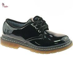 LK8272 (DB01) Kara Black Patent School Shoes F Fitting-30 (UK 12) Lelli Kelly iuhI7