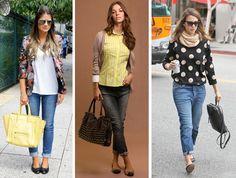 SAPATILHA com jeans e barra dobrada