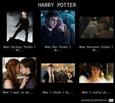 Harry Potter in a nutshell everybody.