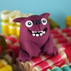 Modeling clay monsters