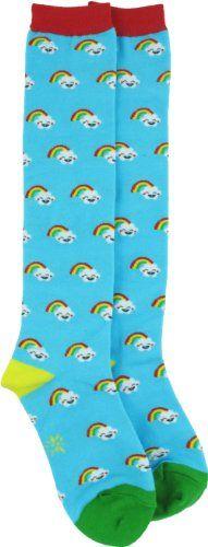 Sock It To Me Kawaii Rainbows Blue Knee High Socks Sock It To Me,http://www.amazon.com/dp/B003ENAA4Q/ref=cm_sw_r_pi_dp_Rj4Lsb1SAPBES6FX