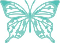 Decorative Die - Classic Butterfly