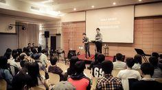 Pastor Garrick Li's first time interpreting for me! He is on fire! #KongHeeTaiwan