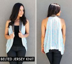 10 Ways to Turn a Scarf into a Vest   Brit + Co