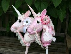 Hobby horses in WhimsyWoo style for the girls