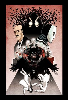 I cannot express this enough, if you like comics, and definitely if you like batman, go out and buy the 10 issues of this bo. Batman The Court of Owls Batman Court Of Owls, I Am Batman, Comic Villains, Comic Book Characters, Batman Universe, Comics Universe, Dc Comics, Batman Story, Batman Kunst