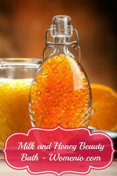 Milk and Honey Bath. - 5 Natural DIY Beauty Recipes for Homemade Glamour!