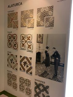 Alaturca Ceramic tiles by Bien Seramik. Come to see them at pav. 19. #MCaroundCersaie #Cersaie