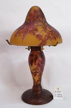 Gallé Art Glass -  French - Art Nouveau