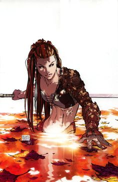The Amazing Comic Art of Michael Turner Michael Turner, Bd Comics, Image Comics, Comics Girls, Marvel Comics, Comic Book Artists, Comic Artist, Comic Books Art, Dark Fantasy Art