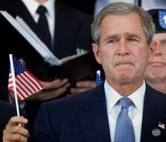 George W Bush picture. A president who loved the country...didn't try to destroy it. The good ole days