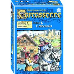 Carcassonne Expansion Inns And Cathedrals The Board Game
