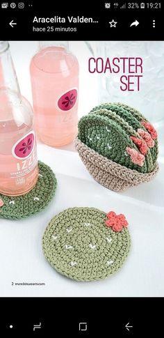 Crochet Diy Make A Crochet Garden - 9 Stylish Projects for Succulents, Cacti Yarn Projects, Crochet Projects, Sewing Projects, Sewing Tutorials, Crochet Gifts, Diy Crochet, Things To Crochet, Crochet Home Decor, Crochet Ideas To Sell