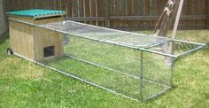 The GardenEggs.com chicken tractor, to be given away by GRIT sometime after the May/June issue.