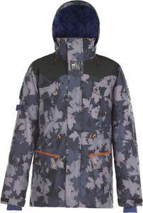 a entonces picture chaqueta 2018 grey camo ski snowboard