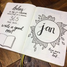 "74 Likes, 2 Comments - AthenaInTheRain (@athena.in.the.rain) on Instagram: ""January cover page #bulletjournal #bulletjournaling #bulletjournaljunkies #bulletjournals…"""