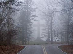 misty cross.