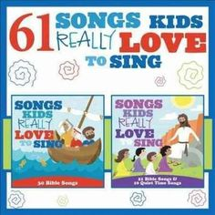 61 Songs Kids Really Love To Sing' is exactly what you'd expect from the title - loads of kids songs for one small price.Encourage self-confidence, laughter and biblical knowledge with this huge collection of children's music Songs To Sing, Kids Songs, Love Songs, Hymns Of Praise, Praise And Worship, Song Search, Christian Soldiers, Baby Lullabies, Bible Songs