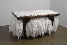 Ann Hamilton - myein • table    1999